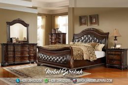Bed Set Kayu Jati Robert Pattinson JK-954