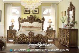 Bedroom Italian Luxury Casual Ukir JK-966
