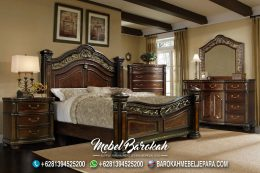 Jual Bedroom Set Antik Kayu Jati JK-950